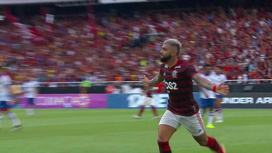 Vai ter plaquinha? Faminto em 2019, Gabigol volta ao Flamengo para matar saudades das redes