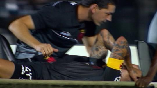 Ramon rompe ligamento cruzado do joelho esquerdo e não joga mais em 2018