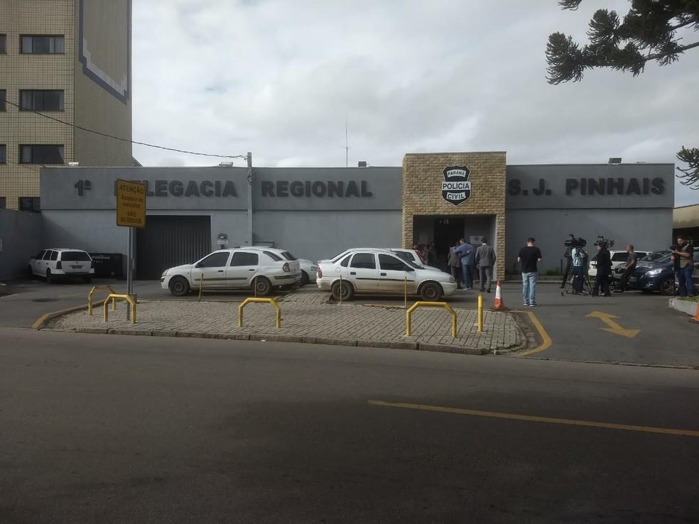 Caso é investigado pela Polícia Civil de São José dos Pinhais — Foto: Paola Manfroi/RPC Curitiba