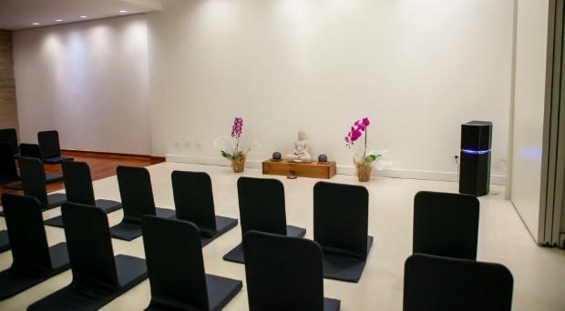 Uma das salas do centro (Foto: Divulgação)