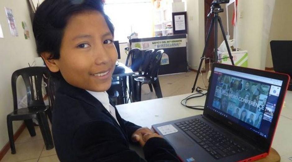 Este garoto fundou um banco com apenas 7 anos