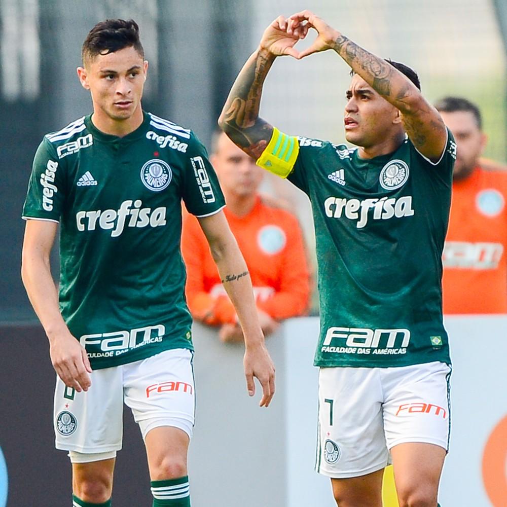 Dudu devolver gozação de técnico do Palmeiras sobre sua altura