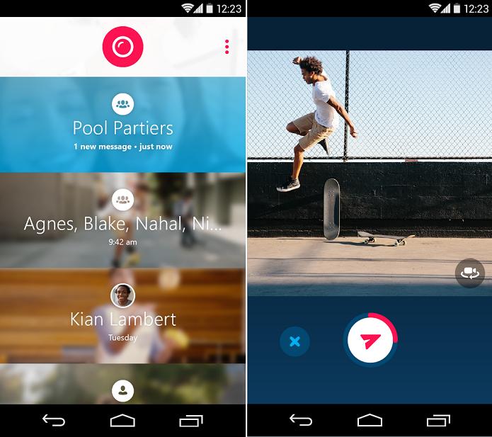 Skype Qik é modo rápido e divertido de fazer vídeos (Foto: Divulgação)