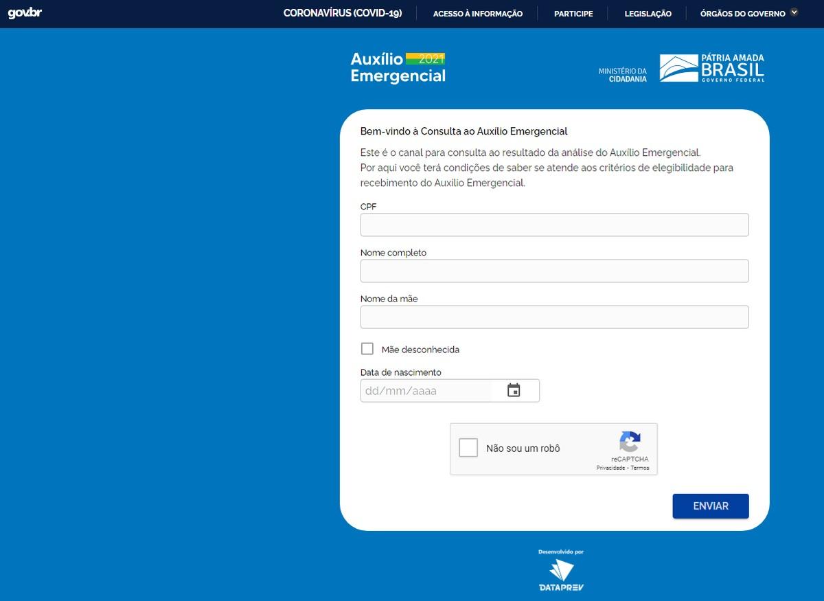 Lista de aprovados do auxílio emergencial 2021 está disponível: veja como  consultar | Brasil e Política