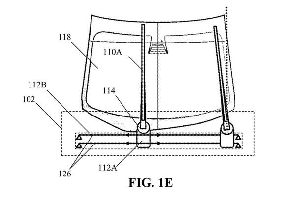 Esquema da patente mostra como seria o funcionamento do novo sistema (Foto: Divulgação)