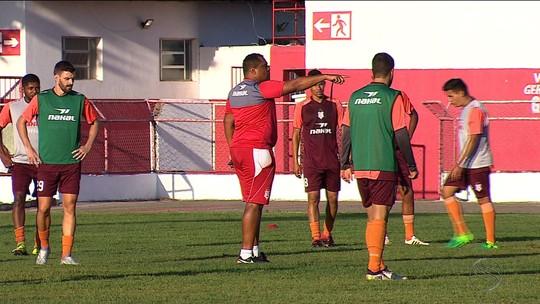 Elias Borges afirma que Sergipe vai com força máxima, mas pode ter mudanças