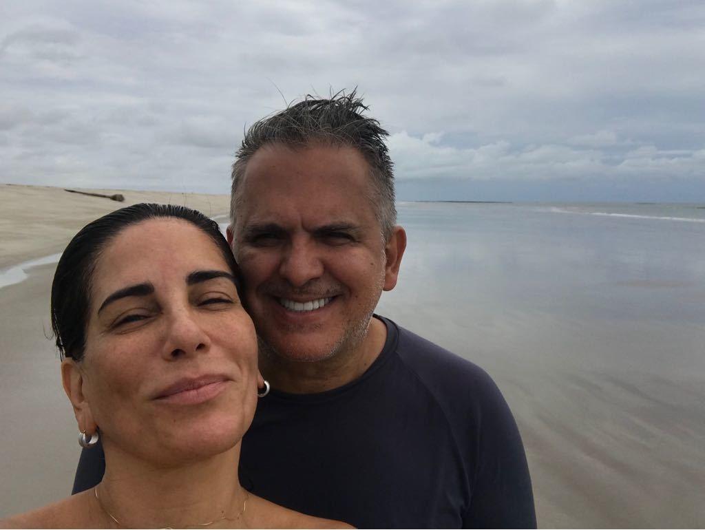 Glória Pires e Orlando Morais (Foto: Instagram/Reprodução)