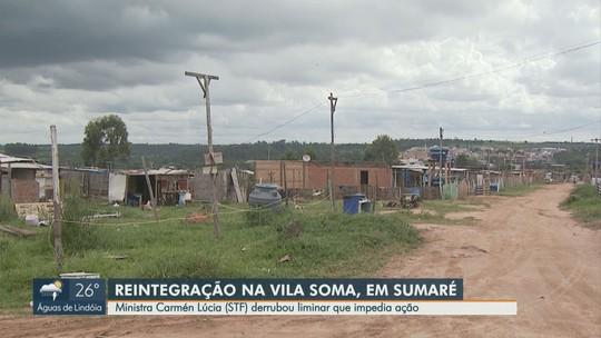STF libera reintegração de posse da área da Vila Soma, em Sumaré; ocupação vai recorrer