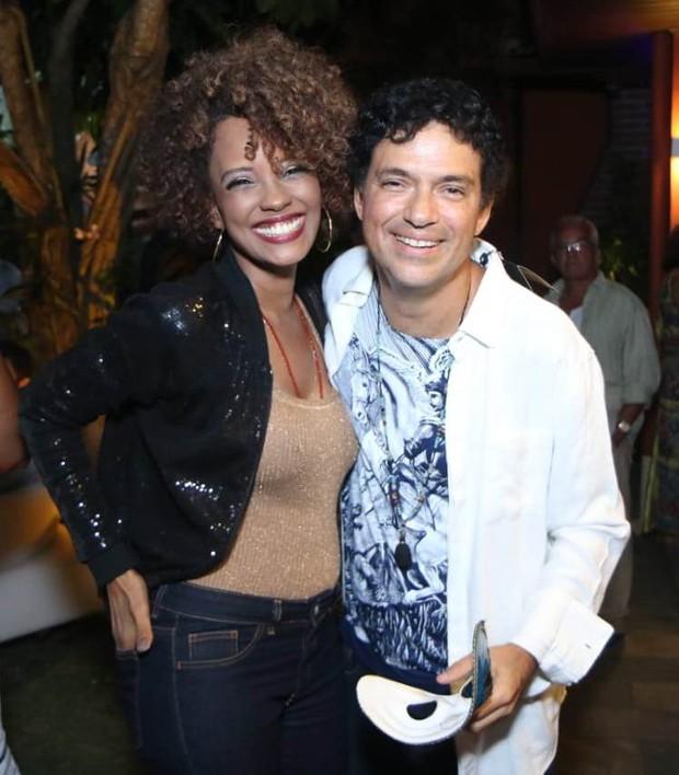 Isabel Filardis e Jorge Vercillo (Foto: Daniel Pinheiro/AgNews)