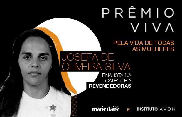 Josefa de Oliveira Silva  (Foto: Silvana Martins)