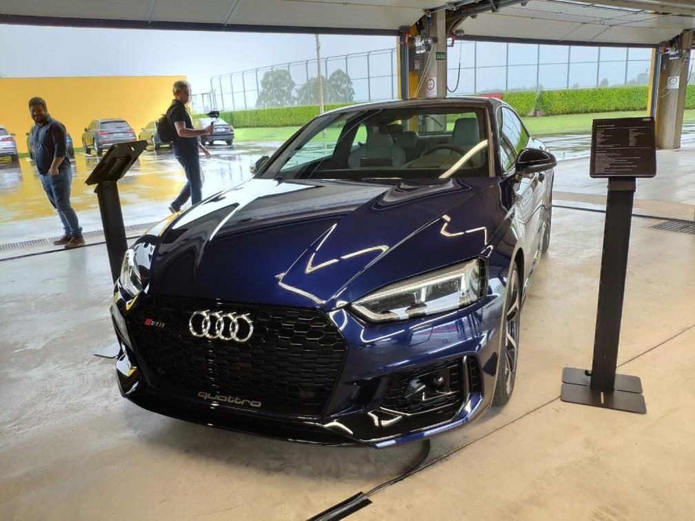 Audi RS 5 Coupé — Foto: André Paixão/G1