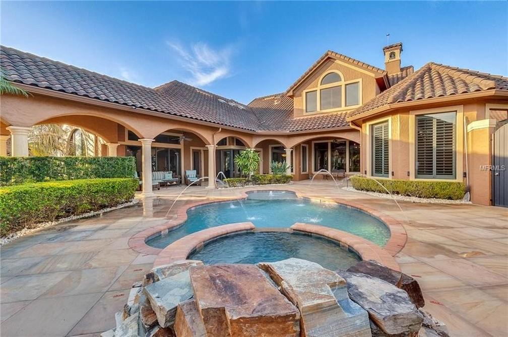 Casa da família de Gugu Liberato em Orlando — Foto: Reprodução: Realtor.com