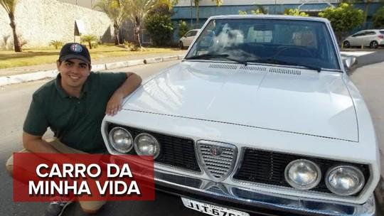Pai compra Alfa Romeo em estado de sucata, restaura e faz surpresa para filho