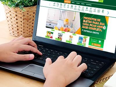 Supermercado em Goiânia tem delivery com a 1ª entrega grátis