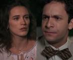 Maria (Bianca Bin) e Celso (Rainer Cadete)   Reprodução
