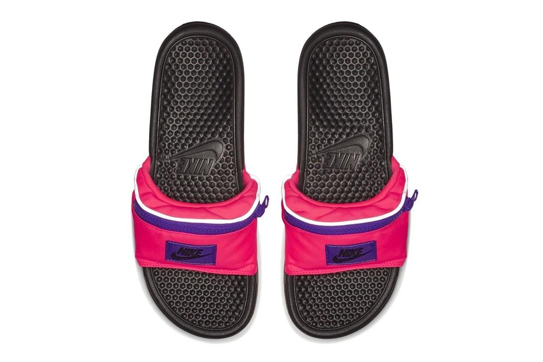 """Os novos Nike """"Fanny Pack"""" Benassi JDI Slides (Foto: Divulgação)"""