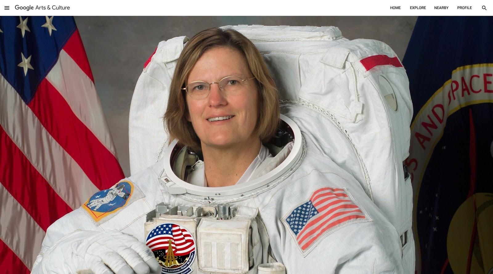 Kathryn D. Sullivan - Museu Nacional do Ar e do Espaço (Smithsonian) (Foto: Divulgação: Google)