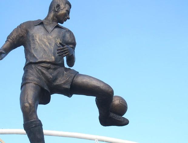 Estátua Zagallo Engenhão (Foto: Fred Huber)