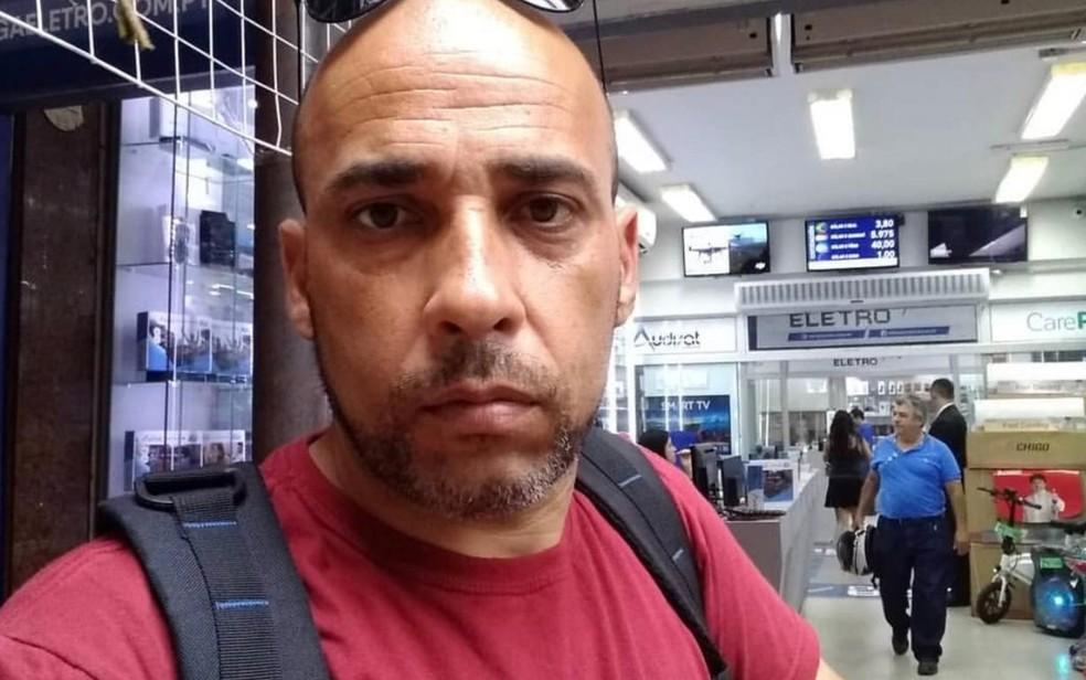 Marcelo Oliveira, que foi morto a mando da ex-mulher em Goiânia, segundo Polícia Civil de Goiás — Foto: Reprodução/Polícia Civil
