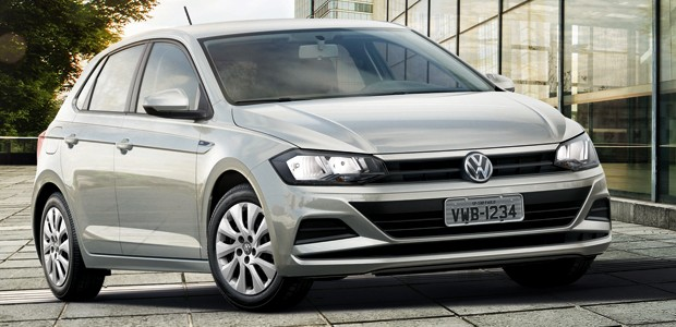 Volkswagen Polo 2019 1.6 MSI with automatic gearbox (Photo: Disclosure)