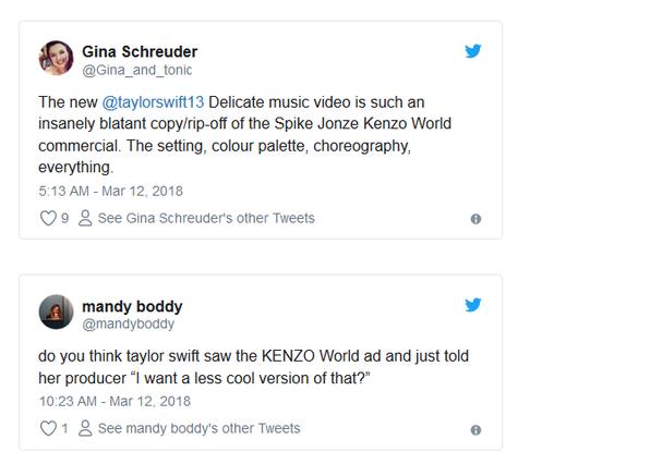 Internautas acusam Taylor Swift de plágio (Foto: Reprodução)