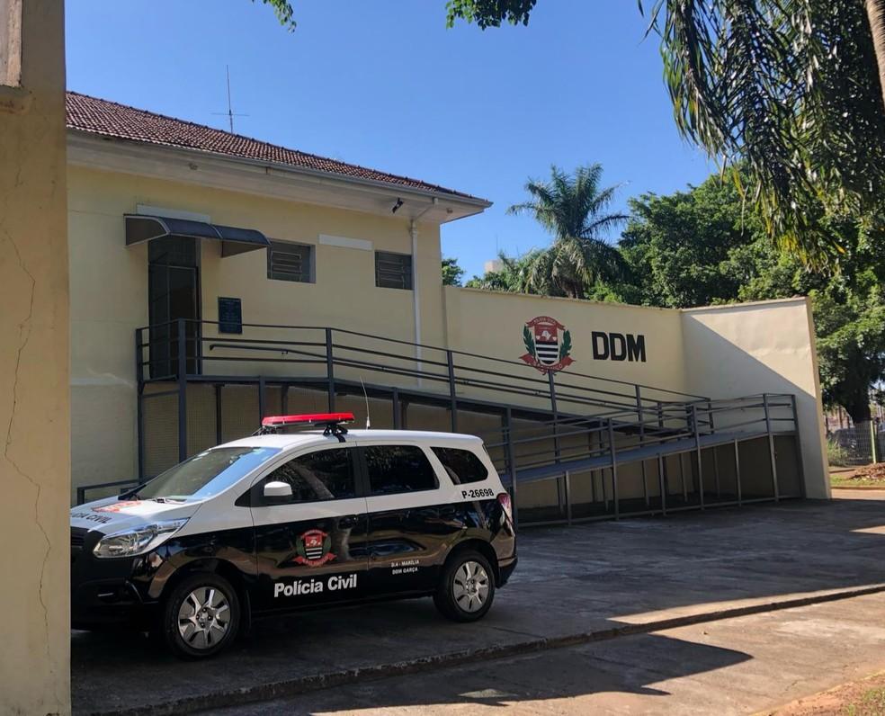 Delegacia de Defesa da Mulher de Garça está coordenando as investigações e já ouviu algumas das vítimas — Foto: Jaqueline Frizon/Divulgação