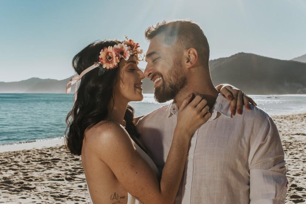 Gabe Cardoso fala sobre preparativos para casamento com Felipe Saab — Foto: Divulgação/Estúdio Om e Eder Ortega