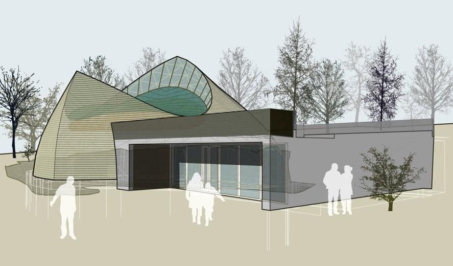 Projeto do templo dedicado aos deuses nórdicos (Foto: Divulgação)