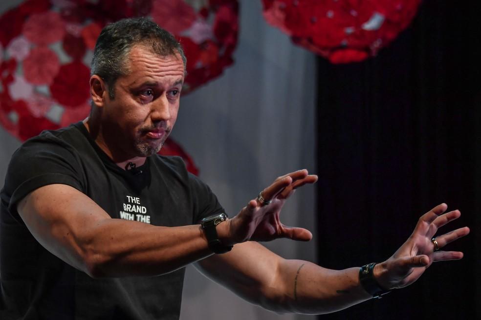 Dramaturgo Roberto Alvim, escolhido por Bolsonaro para chefiar a Secretaria de Cultura � Foto: Nelson Almeida/AFP/Arquivo