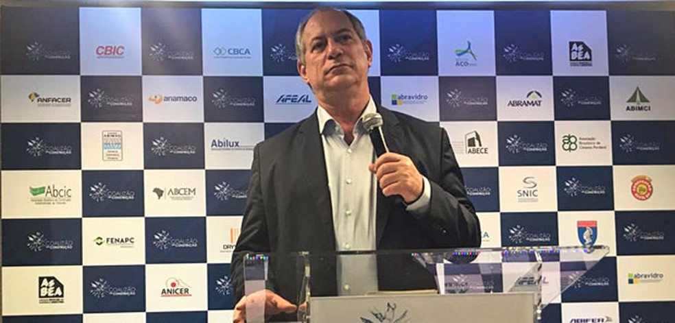 O candidato do PDT à Presidência, Ciro Gomes (Foto: Fernanda Calgaro, G1)