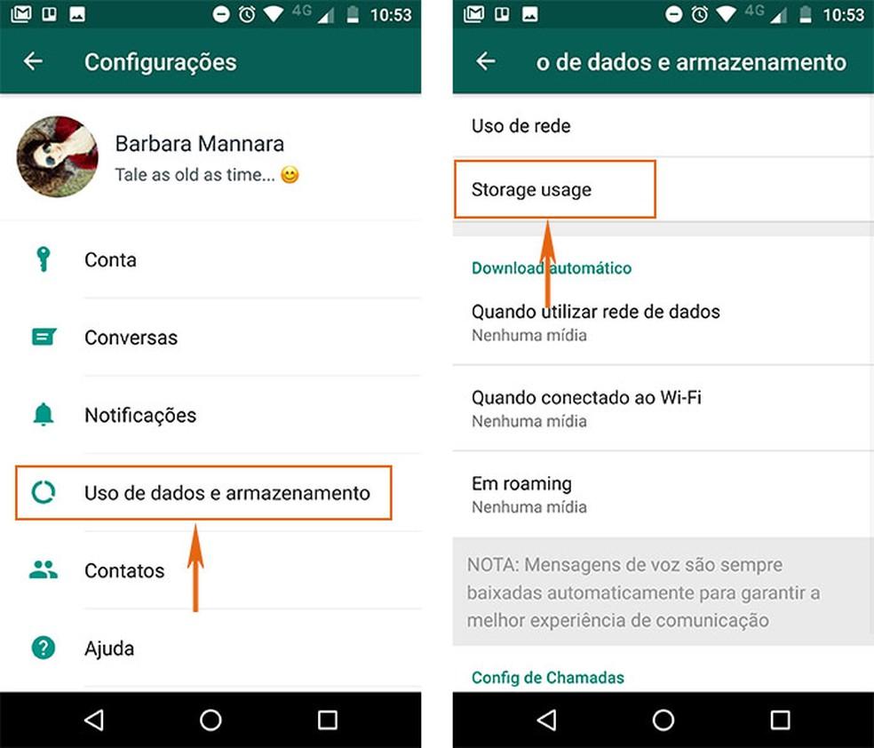 WhatsApp Beta: como gerenciar o armazenamento do celular Android | Redes  sociais | TechTudo