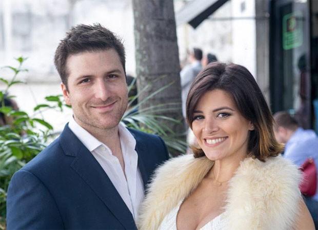 Daniel Simonini e Renata Del Bianco serão pais de uma menina (Foto: Reprodução/DelBiancoSimonini)