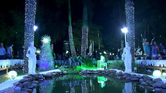 Natal de Luzes acende o espirito de Natal em Ipaussu