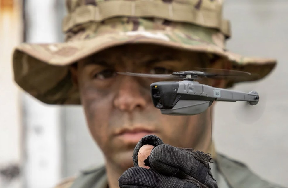 Minidrones devem ser usados pelo exército dos EUA — Foto: Divulgação / FLIR Systems