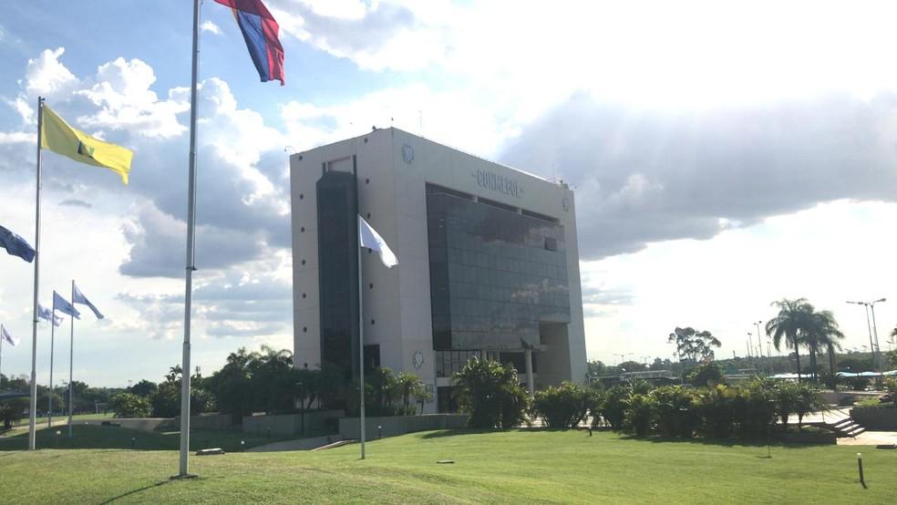 Sede da Conmebol no Paraguai, onde decisão será tomada nesta quarta-feira ? Foto: Martín Fernandez