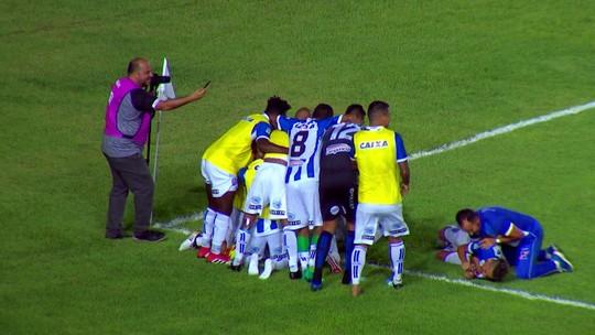 Os gols de Sampaio Corrêa 2 x 3 CSA pela 34ª rodada da Série B 2018