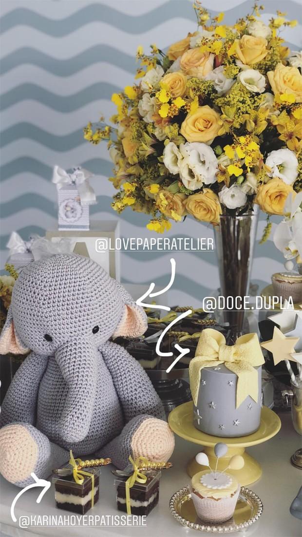 Luma Costa faz Chá de Bebê (Foto: Reprodução/Instagram)