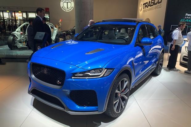 Jaguar F-Pace SVR (Foto: Raphael Panaro / Autoesporte)