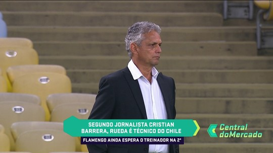 """Rueda já acertou com o Chile e vai avisar saída ao Fla, diz jornalista do """"La Tercera"""""""