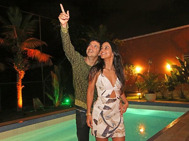 Jorge Vercillo e Martha Suarez (Foto: Reginaldo Teixeira / Ed. Globo)