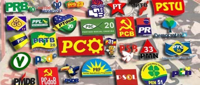 Partidos políticos (Foto: Arquivo Google)