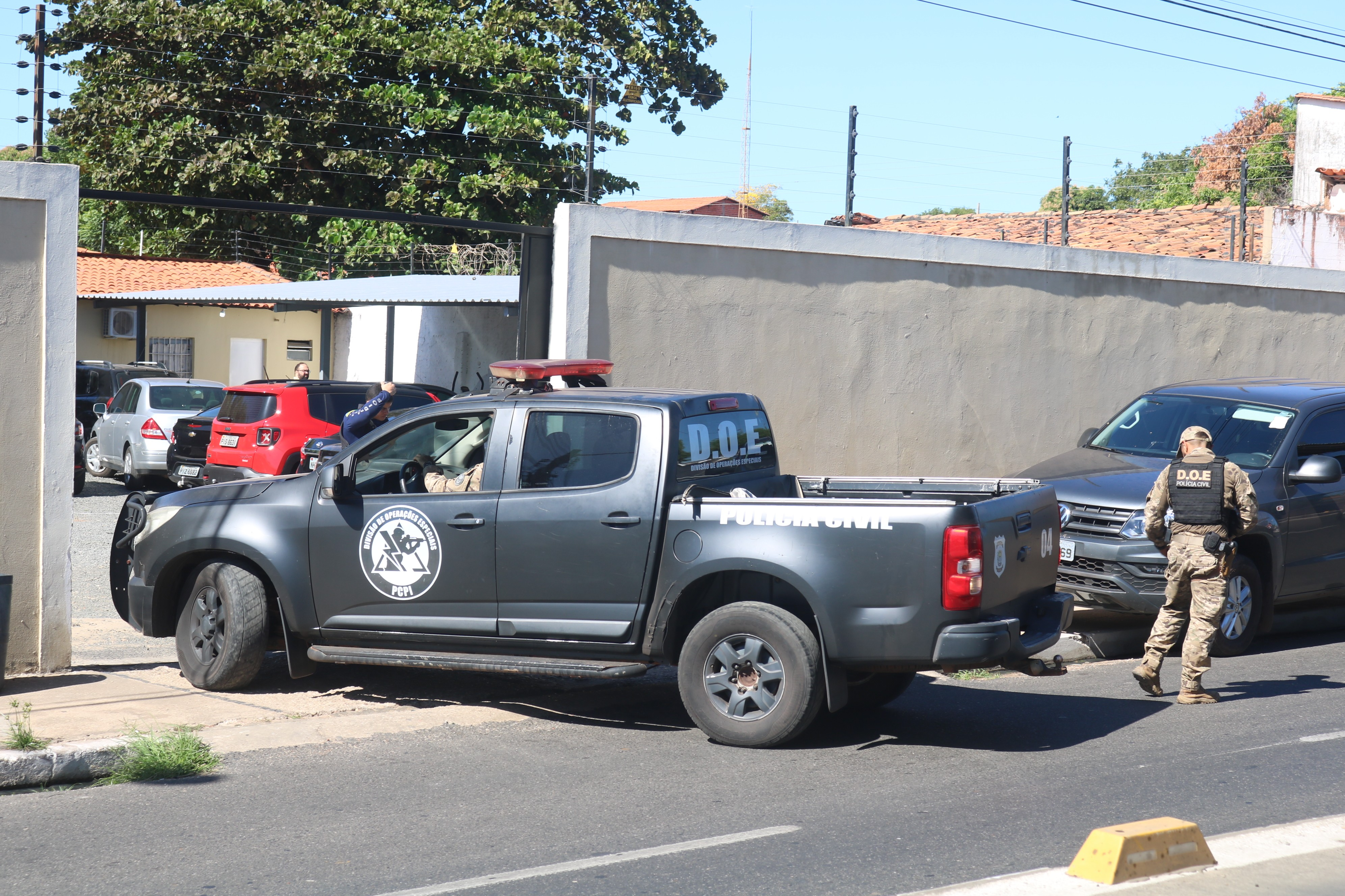 Dono de posto de lavagem é preso suspeito de participar de dois assaltos a bancos no Piauí