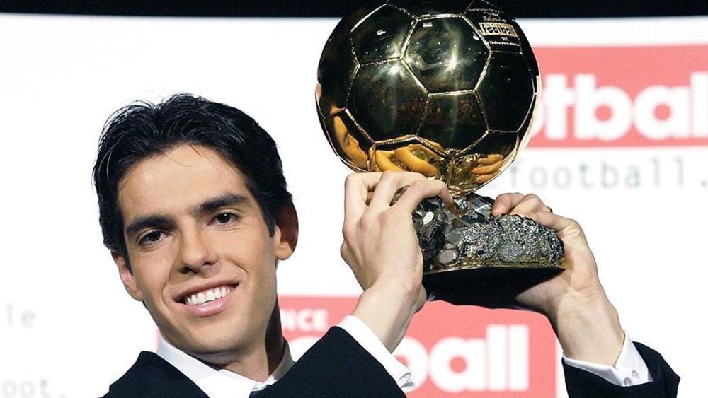Kaká Bola de Ouro 2007
