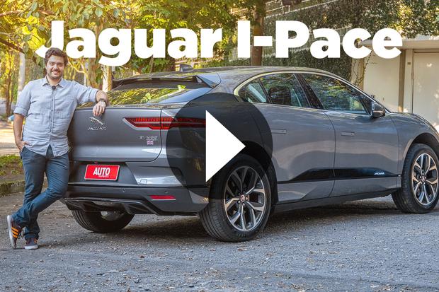 Vídeo: Jaguar I-Pace (Foto: Marcos Camargo / Autoesporte)