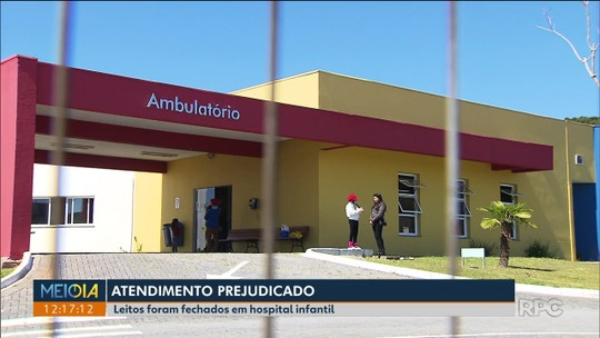 Hospital infantil da Região de Curitiba fecha leitos e cancela cirurgias por falta de médicos