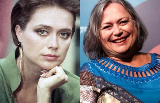 Cristina Mullins, que recentemente viveu a Zuleica de 'Rock story', era Tamyris, irmã da personagem de Patricia Pillar (Foto: TV Globo)
