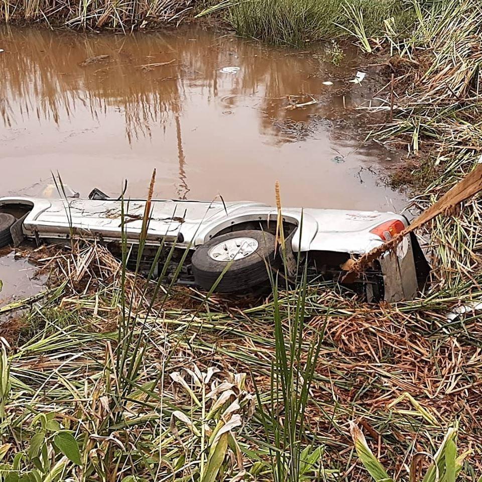 Homem morre após cair em lagoa às margens da BR-491, em Muzambinho, MG - Notícias - Plantão Diário