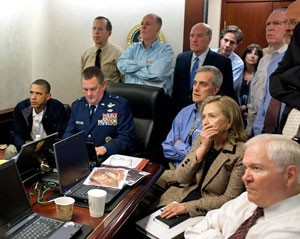 obama bin laden operação (Foto: AP/Casa Branca)