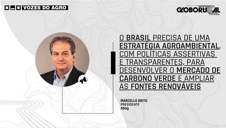 Vozes do Agro - Marcello Brito - Abag (Foto: Estúdio de Criação)