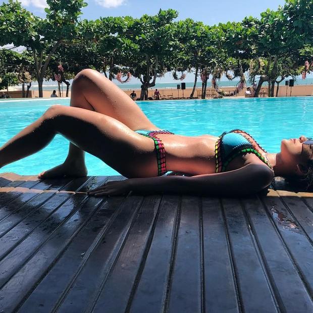 Bruna Santana: corpão (Foto: Reprodução Instagram)